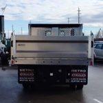 "2018 Hino 195 114"" WB Aluminum Landscape Dump Body"